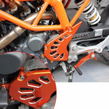 KTM RC125 200 390 Motorcycle Motorbike Front Sprocket Cover Engine Chain Guard Case Protection For KTM RC125 RC 125 200 390