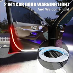The new LED car door anti-collision warning light, automobile general decorative light with car door side atmosphere light