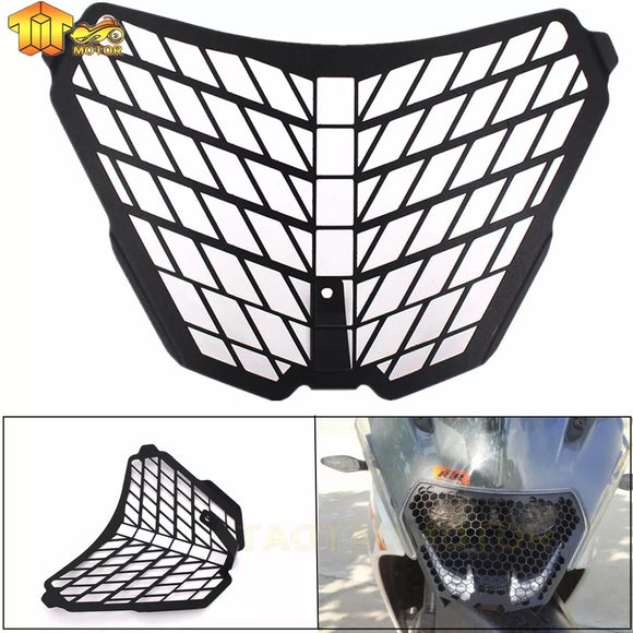 CNC Aluminun For KTM RC125 RC200 RC390 RC 125 200 390 2014 2015 2016 Headlight Grill Guard Cover Protector Motorcycle Grille