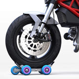 Wheel Puller Booster Large Trailer Electric Emergency Help Self-rescue Transporter With 5 Wheels For Motorcycle