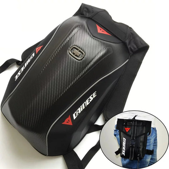Mach Motorcycle Racing Backpack Waterproof For Yamaha Carbon Fiber Motorcycle Bag Riding Moto Motocross Luggage Bags