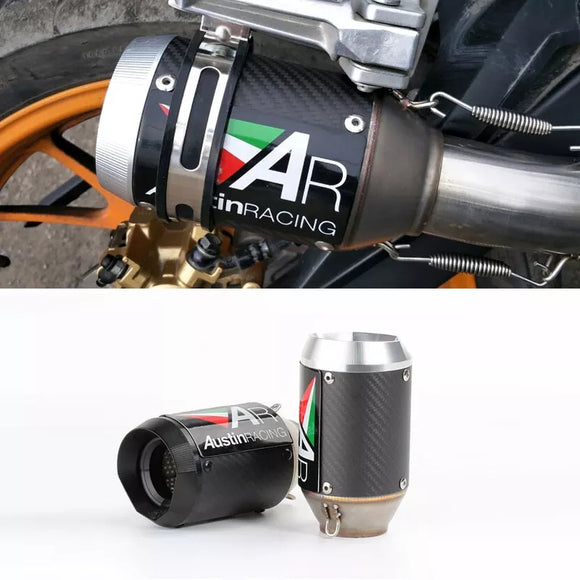 Austin Racing Motorcycle Exhaust Muffler (Replica)