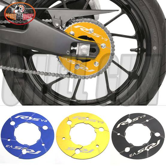 Motorcycle Rear Sprockets YZFR15 CNC Chain Gear Decorative Cover protection For Yamaha YZF-R15 YZF R15 V3 2017 2018 2019 2020