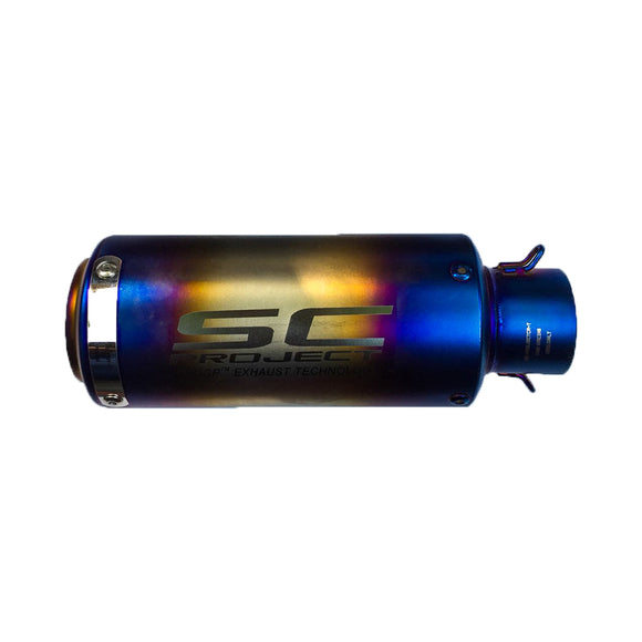 SC Project SLIP-ON Performance Exhaust Multicolor