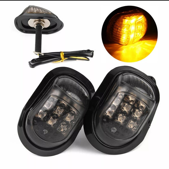 Motorcycle Body Indicator 12v 9 LED Shoe Design
