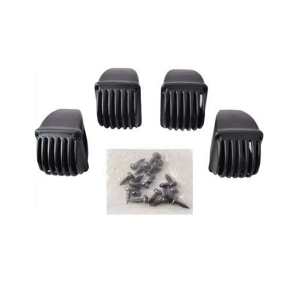 Splendor Indicator Light Grill Black (Pack of 4 Pcs.)