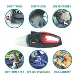 Blackcat 2-in-1 Vacuum Cleaner with Tyre inflator | Heavy Duty | Dry and Wet Waste
