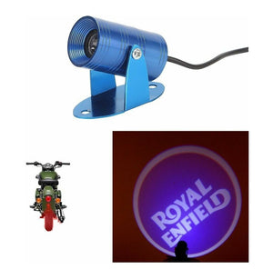 3D LED Shadow Laser Light for Royal Enfield brassass75