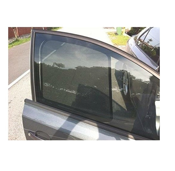 Premium Quality Fix ( Non-Magnetic ) Car Sun Shades Curtain For Maruti Baleno (4 Pcs)