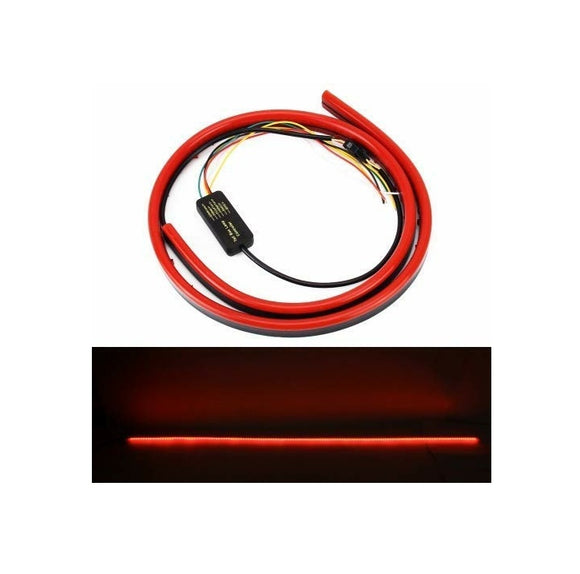 Car LED Third Brake Light Lamp Strip 110 cm Rear Tail Stop Signal Safety Warning Light