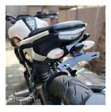 MOTOAGGRANDIZE Tail Tidy/Fender Eliminator for Yamaha MT 15 | Color: Matte Black [Watch Out for Our Counterfeit Product listings]