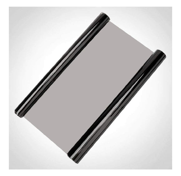 High Gloss Vinyl Tint Smoke Film (Light Black, 30X60 cm)