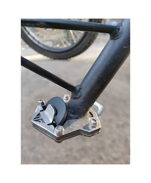 Stainless Steel Side Stand Extender for Royal Enfield Himalayan