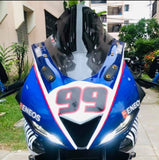 YAMAHA R15 V3 R1 FAIRING MASK FACELIFT FRONT FAIRING ABS ORIGINAL