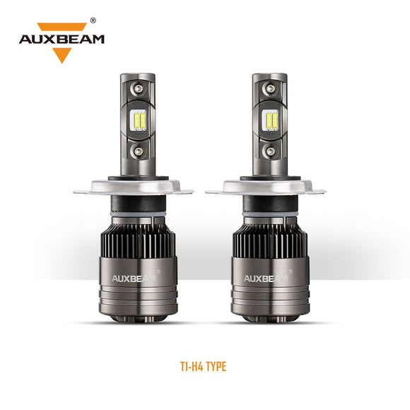 Auxbeam H4 T1 Series LED Headlight Bulbs - 6500K 8000LM (2pcs/set)