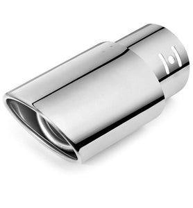 car exhaust tube in tube silencer muffler tip for universal cars. Easy to install. Perfect fit