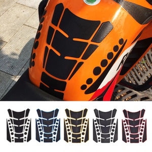 Motorcycle Accessories Oil Fuel Gas Tank Pad Protect Decal Stickers Case
