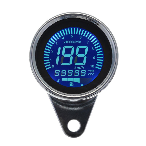 Motorcycle LCD Odometer Speedometer Oil Meter Integrated