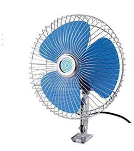 Auto Rotate Car Fan 6 Inch 12V DC ForUniversal car || Trucks || Farm Tractors || Auto || F-79