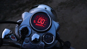Royal Enfield Colourful Digital Speedometer With fuel indicator