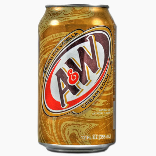 A&W Cream Soda (Dose) (355 ml)
