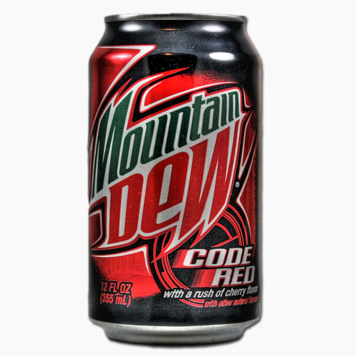Mountain Dew Code Red (Dose) (355 ml)