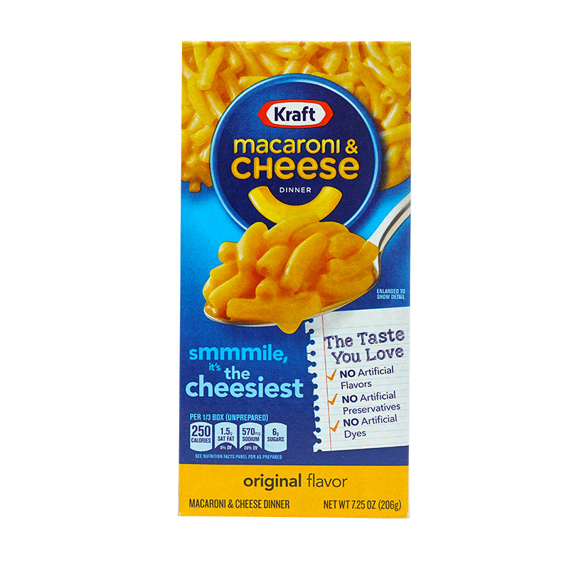 Kraft Macaroni and Cheese (206 g)