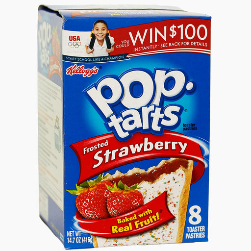Kellogg's Pop Tarts Frstd Strawberry (416 g)