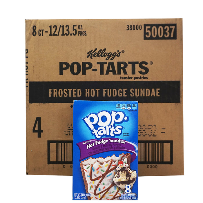 Kellogg's Pop Tarts Frstd Hot Fudge Sundae (348 g) (12er)