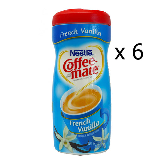 Nestlé Coffee-Mate French Vanilla (425 g) (6er)