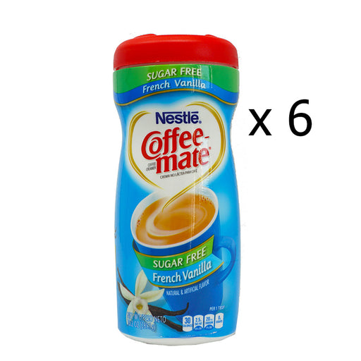 Nestlé Coffee-Mate French Vanilla SF (289 g) (6er)