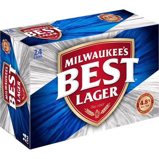 Milwaukee's Best Lager (Dose) (355 ml) (24er)