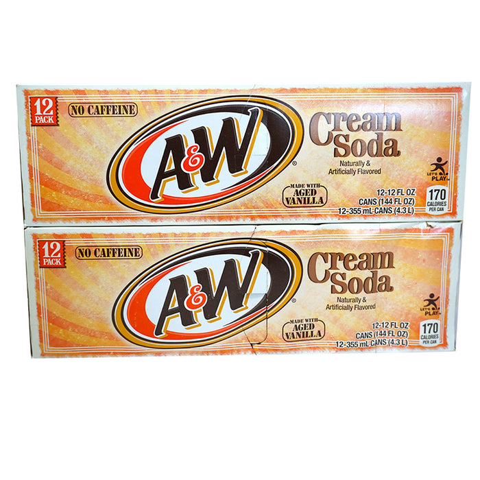 A&W Cream Soda (Dose) (355 ml) (24er)