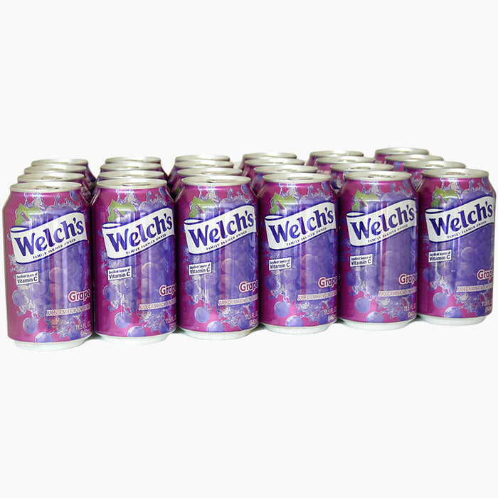 Welch's Juice Drink Grape (340 ml.) 24er