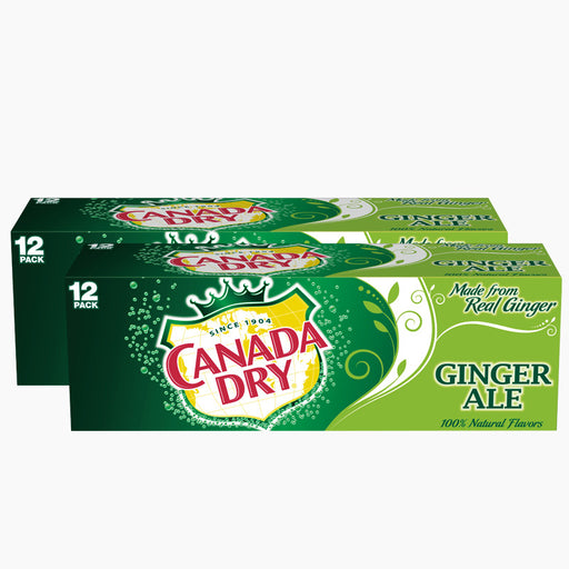 Canada Dry Ginger Ale (Dose) (355 ml) (24er)