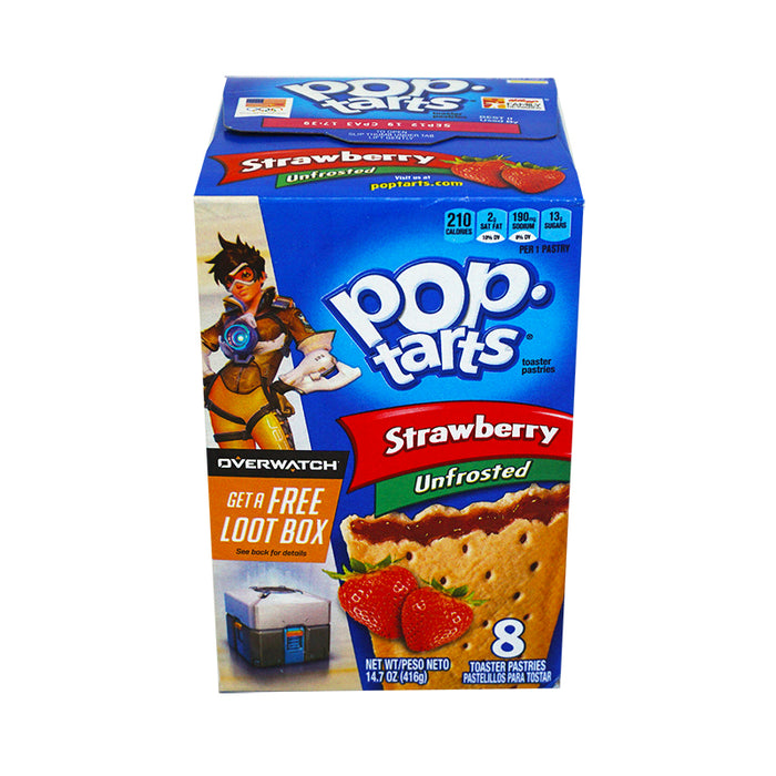 Kellogg's Pop Tarts Unfrstd Strawberry (397g)
