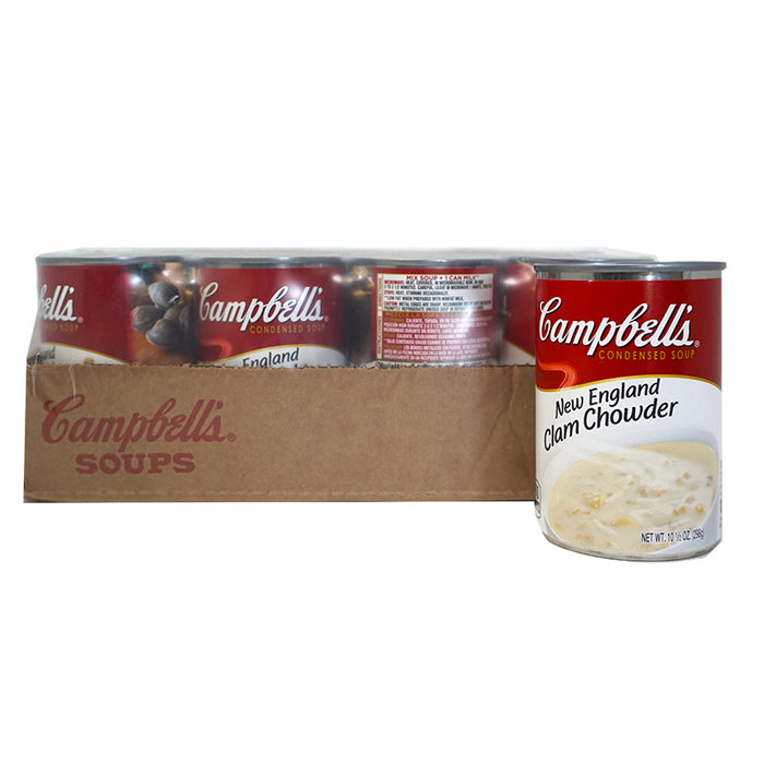 Campbell's Clam Chowder Soup (298 g) (24er)