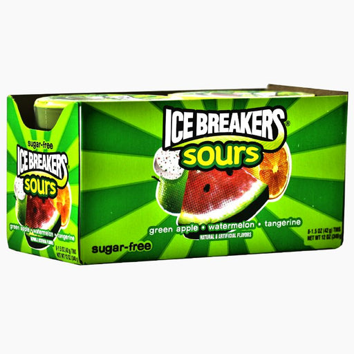 Ice Breakers Sours - Green Fruits SF (42g) (8er)