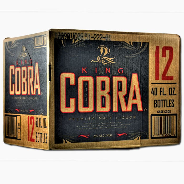 King Cobra Bier (Flasche) (40 OZ) (12er)