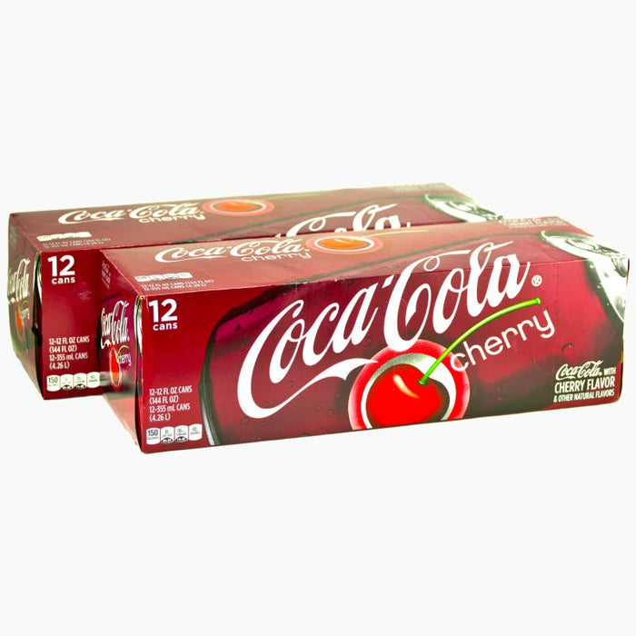 Coca Cola Cherry (Dose) (355 ml) (24er)