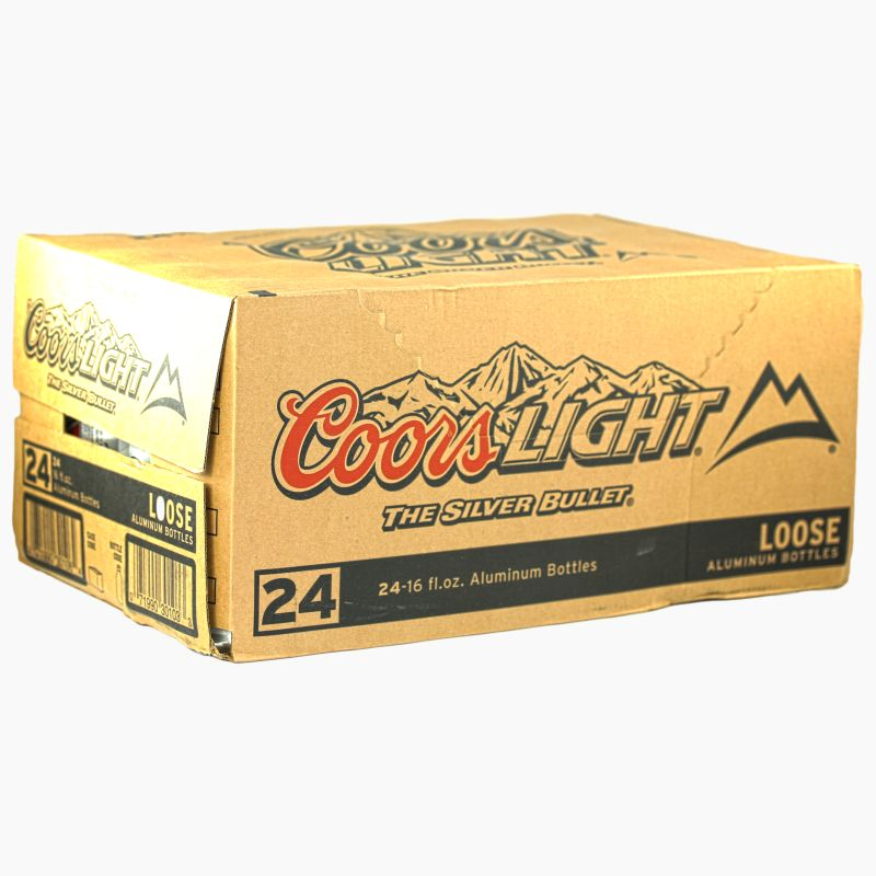 Coors Light Silver Bullet (473 ml) (24er)
