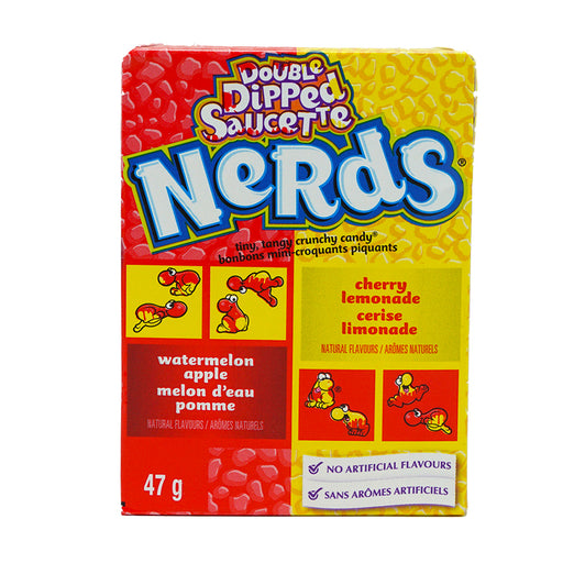 Wonka Nerds Apple Watermelon & Cherry Lemon (46,7 g)