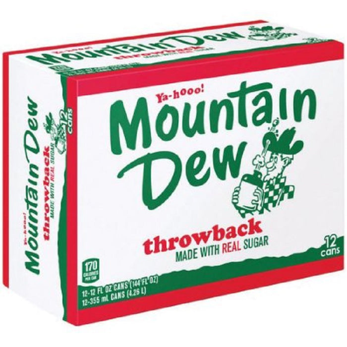 Mountain Dew Throwback (Dose) (355 ml.) (24er)