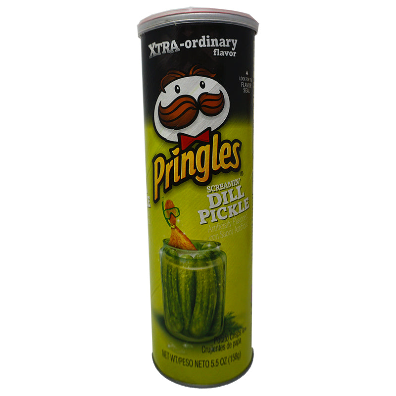 Pringles Screamin Dill Pickle (158 g)