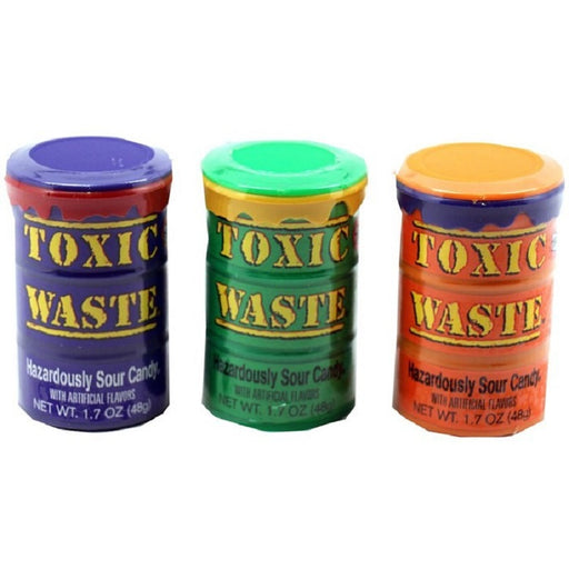 Toxic Waste Colored Drums (48 g)