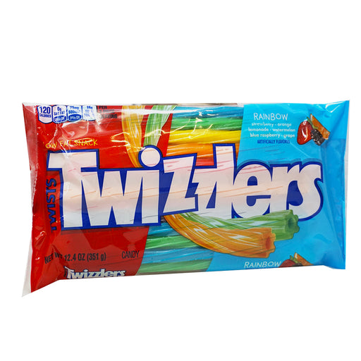 Twizzlers Twists Rainbow Big Bag (351 g)
