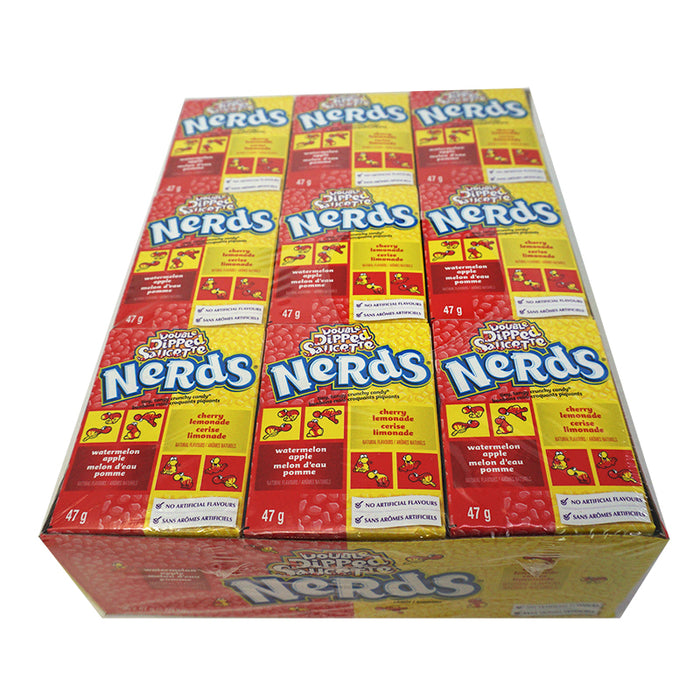 Wonka Nerds Apple Watermelon & Cherry Lemon (46,7 g) (36er)