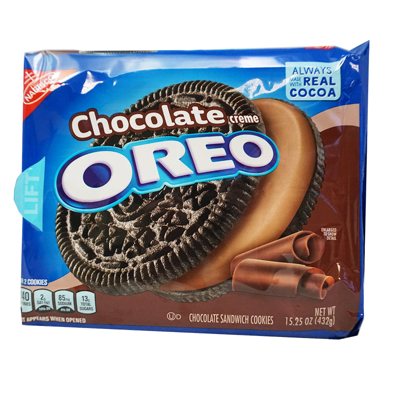 Nabisco Oreo Chocolate Creme (432 g)