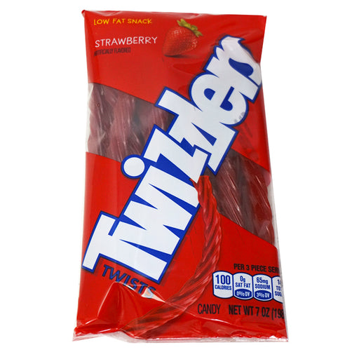 Twizzlers Twists Strawberry Peg Bag (198 g)