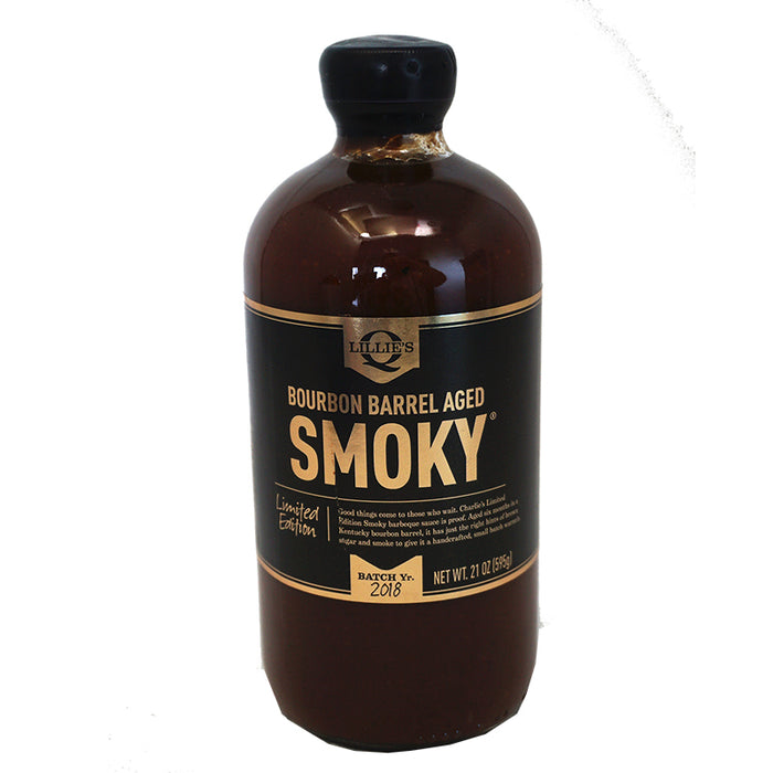 Lillie's Q - BBQ Sauce Bourbon Barrel Smoky (595g)
